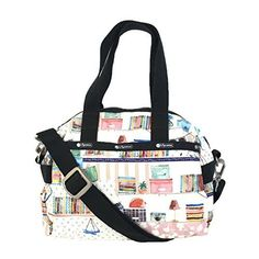 Lesportsac Essential Small Uptown Satchel Library * You can get more details by clicking on the image-affiliate link. Cheap Luggage, Luggage Sale, Luggage Online, Disney Luggage, Best Travel Luggage, Samsonite Luggage, Checked Luggage, Special Deals, Baggage