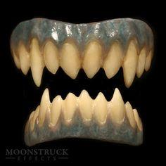 The Frost Biter - Korrigan Demon Teeth   *Sharpened Canines*