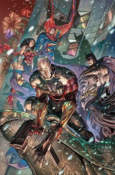 Batman, Wonder Woman, & Superman of the Justice League teaming with Deadshot Comic Book Artists, Comic Book Characters, Comic Books Art, Comic Artist, Justice League, Dc Trinity, Nightwing And Starfire, Hq Dc, Univers Dc