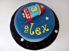 rocket ship — Children's Birthday Cakes