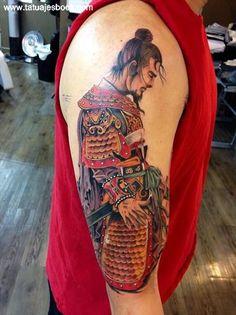 Ideas para tatuajes con guerreros