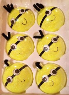 Minion Christmas Ornaments
