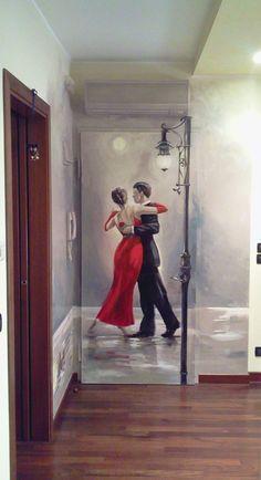 porta decorata pittorica https://www.facebook.com/murodellemeraviglie