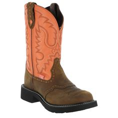 "Justin Women's Gypsy Collection 11"" Western Boots.. saddle.. Finally got a pair!! :)"