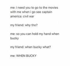 WHEN BUCKY