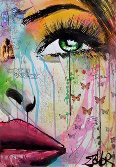 "Saatchi Art Artist Loui Jover; Drawing, ""one way"" #art"
