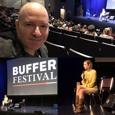Inspiring talk by Dublin screenwriter director producer vlogger @thehazelhayes. I am newly pumped to pursue all my creative passions. And I could hardly tell she was hungover (which she she said she was on Instagram this morning). #bufferfestival  I am a #DigitalNomad #TravelBlogger #LifestyleBlogger #filmcritic #entertainmentreporter #celebrityinterviewer #vlogger #YouTuber #YouTubeCreator #podcaster #radiohost #tvhost #comedian #actor #voiceactor #singersongwriter #cartoonist #screenwriter…
