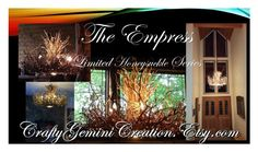 """The Empress"" by craftygeminicreation ❤ liked on Polyvore featuring interior, interiors, interior design, home, home decor, interior decorating, modern and rustic"
