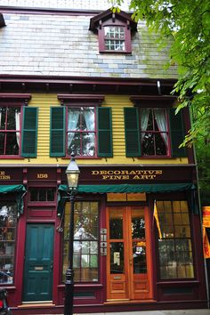 Newport, RI - I can picture Emma Cross entering this shop. It can't have changed much in 120 years.