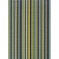 Blue/ Brown Outdoor Area Rug (3'10 x 5'6)