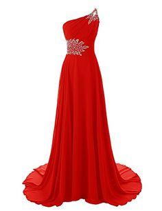 HTYS Women's One Shoulder Beadings Chiffon Bridesmaid Long Prom Dresses HY062 Htys http://www.amazon.com/dp/B018JZ472E/ref=cm_sw_r_pi_dp_Uca.wb18WDN2P