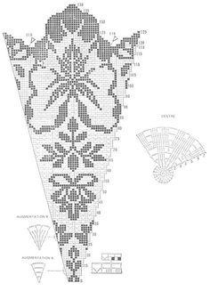 Filet Crochet Tablecloth - Bloom