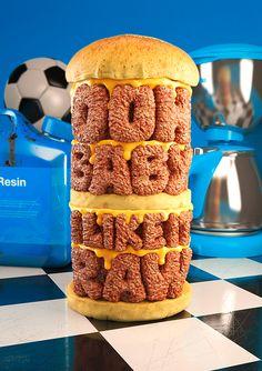 Cheeseburger play - Chris LaBrooy