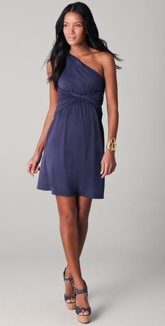 Susana Monaco center twist dress mallove