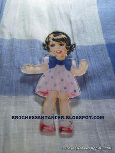 Broche en acetato.Brochessantander.blogspot.com