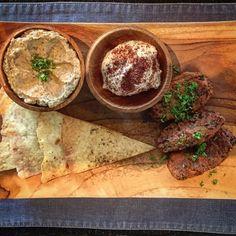 My delicious lunch today 😋#cafecouscous #babaganoush #falafel #foodporn #food #foodie #kuliner #bali #bumbak. Courtesy of @aniablazejewska in #Instagram. #cafecouscous #seminyak #umalas #bestinbali #zaatar