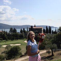 Grazie della bellissima ospitalità del circuito Santander al golf Bogliaco!-) stupenda organizzazione !-)