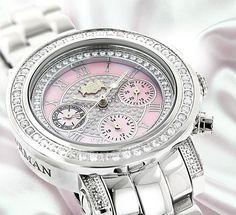 Explore Luxurman Ladies diamond watch collections.. #DiamondWatchesjewels #ladiesDiamondWatches