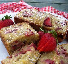 Buttermilk Banana & Strawberry Bread