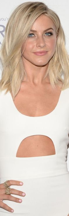 Julianne Hough with Lob Haircut