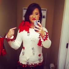 homemade ugly christmas sweaters ideas - Some people consider them ugly I see them as cute!