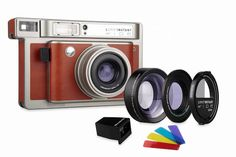 Lomo'Instant Wide camera and lens system | cool gifts for photographers
