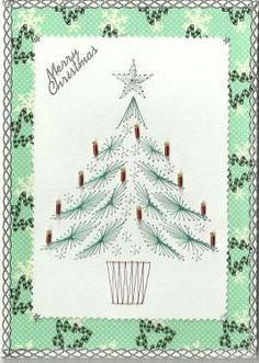 pattern is in euro but I really like this stitch card: