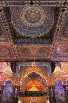 Imam Hussain (as) holy shrine