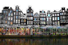 Amsterdam - Die Hauptstadt der Niederlande und immer wieder eine Reise wert. Die Grachten und Museen laden stets zum Besuch ein!
