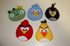 Apliques Angry Birds vários fins. portfolioideias.wordpress.com  e www.facebook.com/portfolioideias