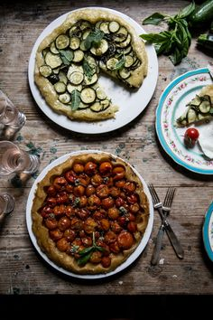 From My Dining Table by Skye McAlpine   Of Boats and Islands </br><h5> (and A Couple of Summer Vegetable Tarts)</h5>   http://www.frommydiningtable.com