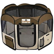 """Pet 45"""" Playpen Foldable Portable Dog/Cat/Puppy Exercise Kennel For Small med..."""