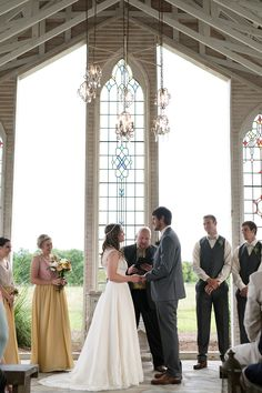 wedding ceremony at gruene estate