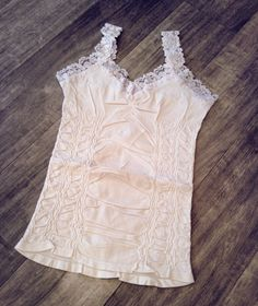 Best best best cami ever.  Wear these under everything.  // Corset Cami - fancynancysboutique.com  #style #basics