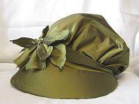 "Custom 18th Century Bonnet (modeled after ""A pretty maid buying a leek"""