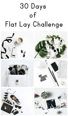 Instagram Flat lay photography
