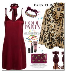 """party night"" by katymill ❤ liked on Polyvore featuring Lanvin, Givenchy, WithChic, Christian Louboutin, Lipstick Queen and Victoria's Secret"