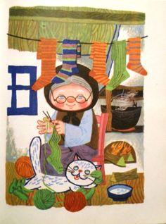 Anémona: Clelia Ottone - Historias del Mundo ilustraciones