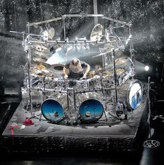 Mike Mangini's DT Kit. Pure Awesome!!