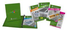 Assemblad - Schede tecniche e raccoglitore ad anelli. Realizzazione: Agenzia Verde