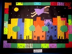 Tar Beach dream quilt -3rd or 4th