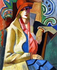 Andre Lohte - Portrait of Anne, 1930