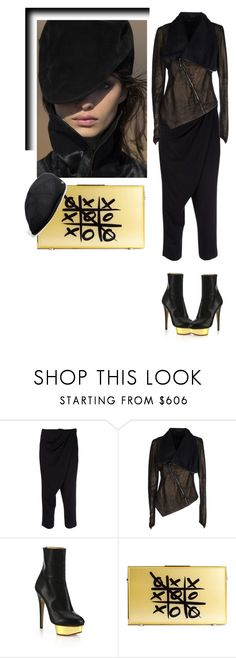 """""""A Puzzle"""" by nino-d-f ❤ liked on Polyvore featuring Peachoo + Krejberg, ISABEL BENENATO and Charlotte Olympia"""