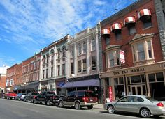 Historic Architecture, Water Street, Downtown St. John's, Newfoundland, Canada