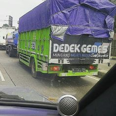 The power of dedek gemez. Foto: @virose_arizona  #dedekgemes #baktruk