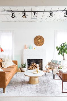 A Living Room Makeover We Styled For Loloi Rugs