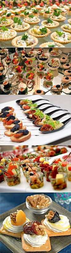 1000 images about party snack ideas and finger foods on for Edible canape spoons