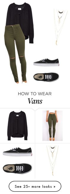 """Untitled #955"" by vireheart on Polyvore featuring Vans and Charlotte Russe"