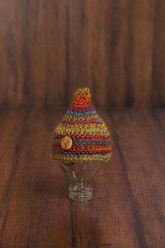 Crochet Newborn Pixie Beanie