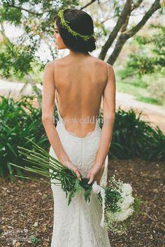 2013 Sexy Spaghetti Mermaid Court Train Lace Backless Wedding Dresses Fashion Summer Garden Beach Lace Elegant Wedding Gowns 2014 #0076